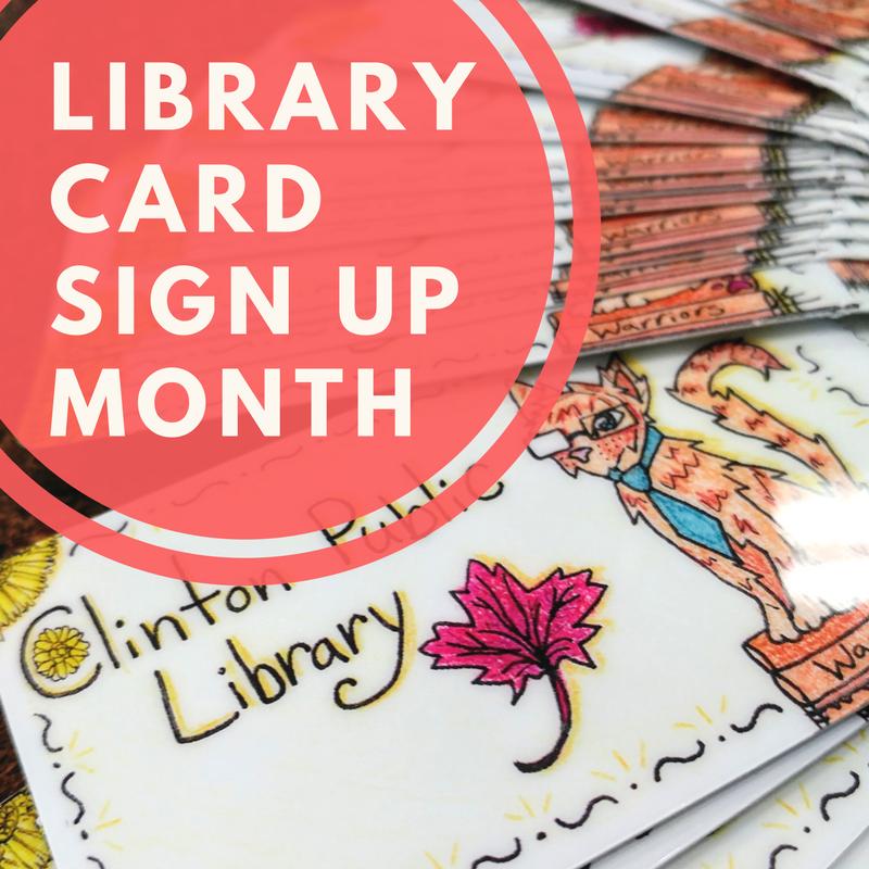 Library Card Awareness