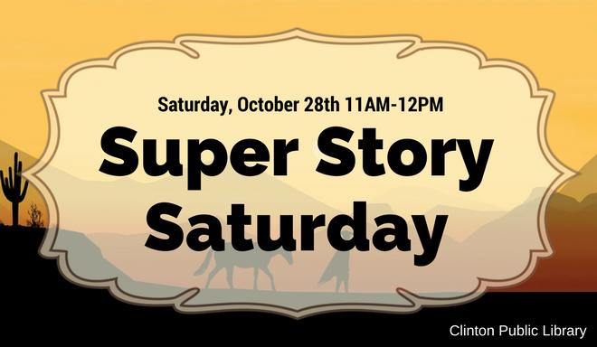 Super Story Saturday October 2017