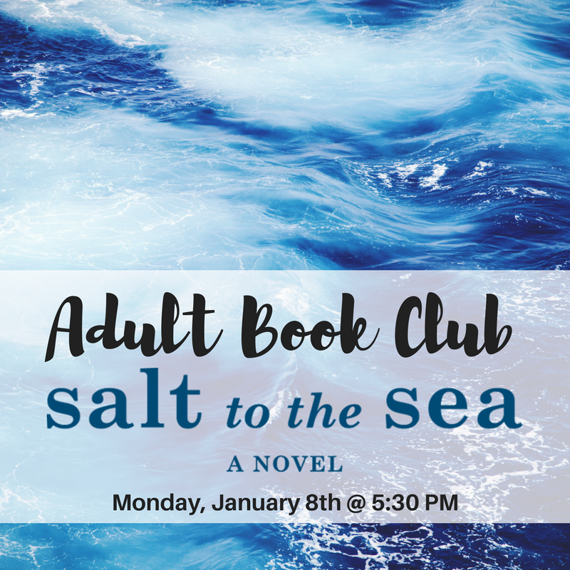 Adult Book Club Jan 2018