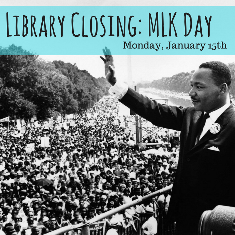 Martin Luther King Jr. Closing