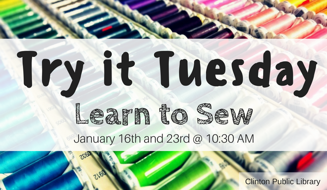 Try it Tuesday sewing