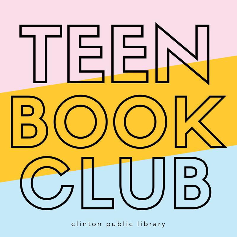 Teen Book Club newsletter