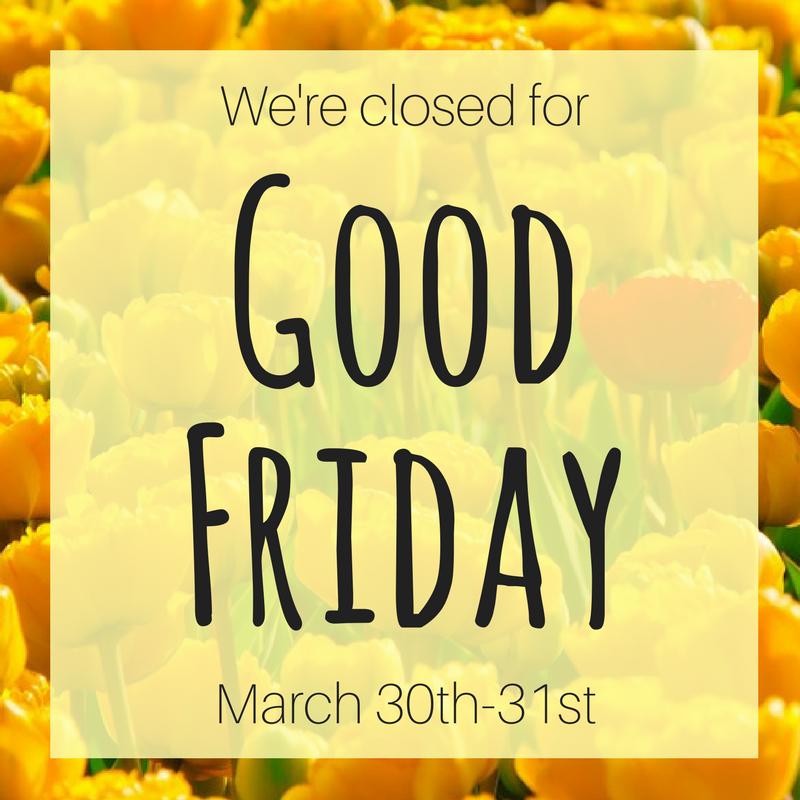 Library Closing Good Friday