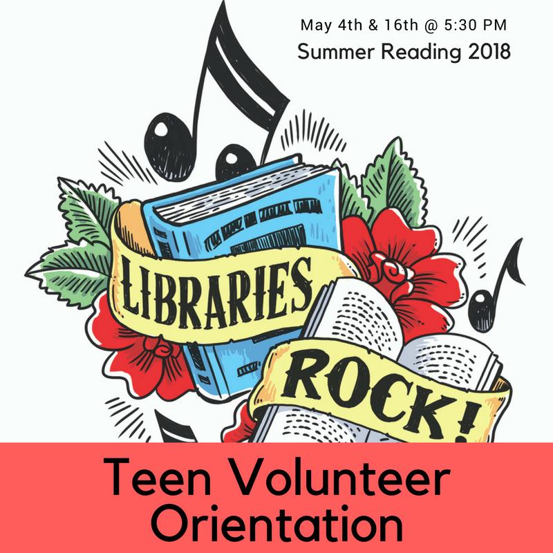 Teen Volunteer Orientation