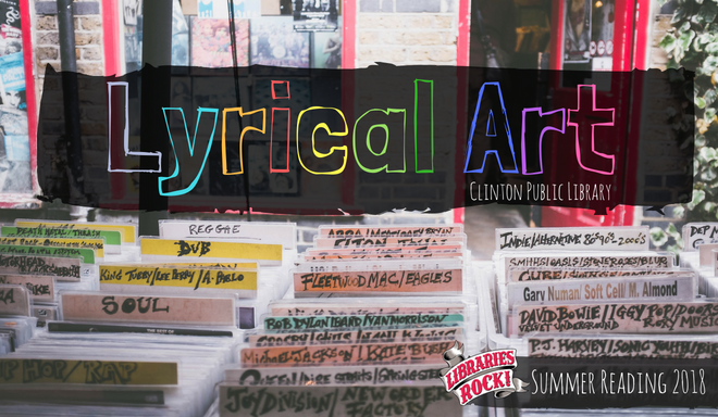 Lyrical Art newsletter banner