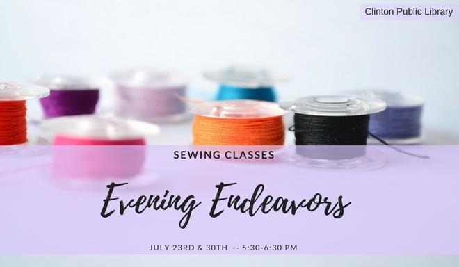 Evening Endeavors Newsletter banner