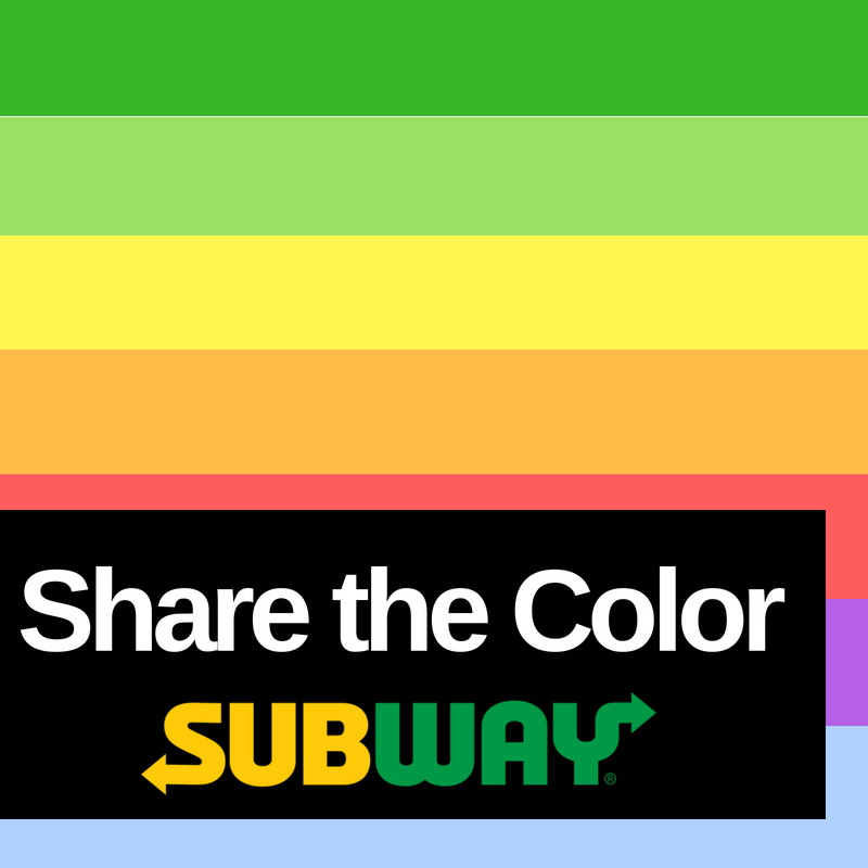 share the color