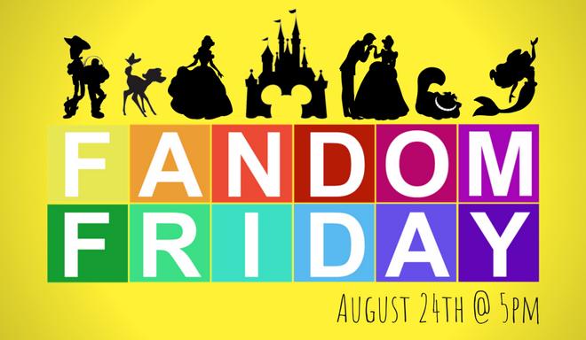 Fandom Friday Newsletter Banner