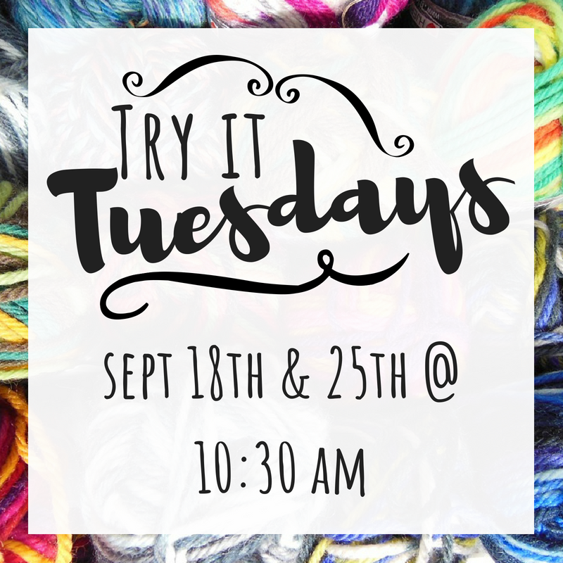 Sept Try it Tuesday