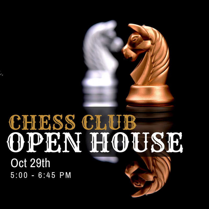 Chess Club open house