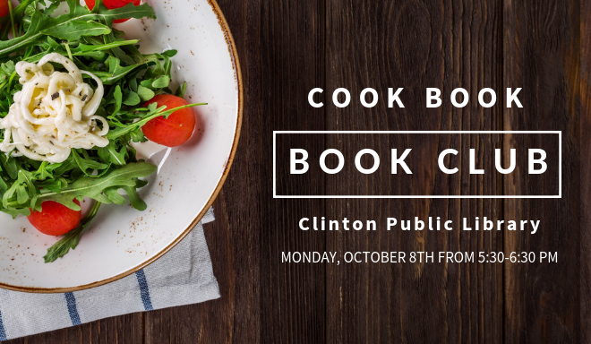Cook Book Book Club Oct