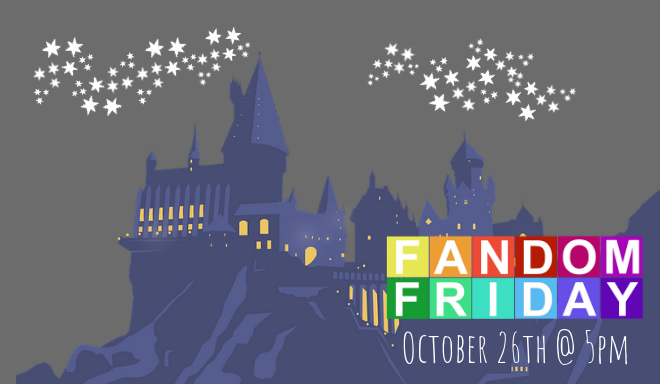 Fandom Friday Newsletter Banner HP