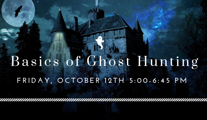 Ghost Hunting Oct newsletter