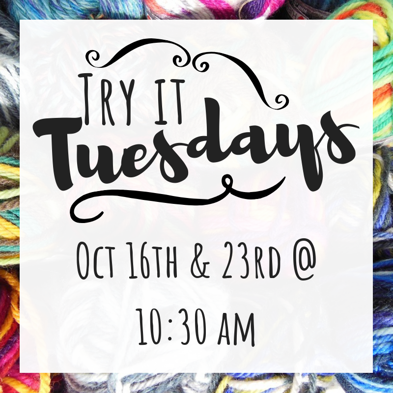 Oct Try it Tuesday